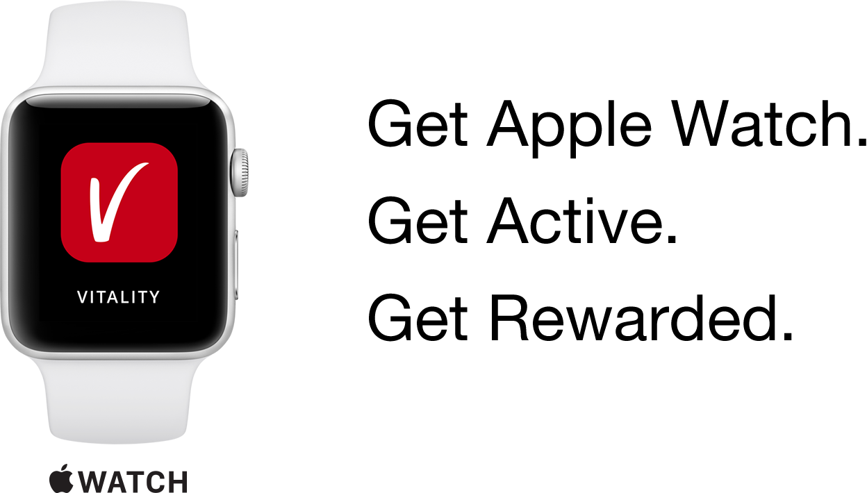 Get Apple Watch.Get Active.Get Rewarded.